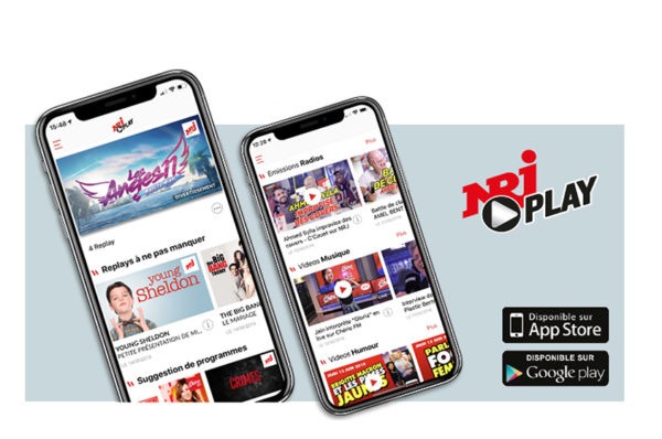 La marque NRJ lance son application télé-radio live & replay