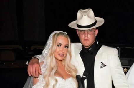 Le youtubeur Jake Paul s'est marié cette nuit avec Tana Mongeau