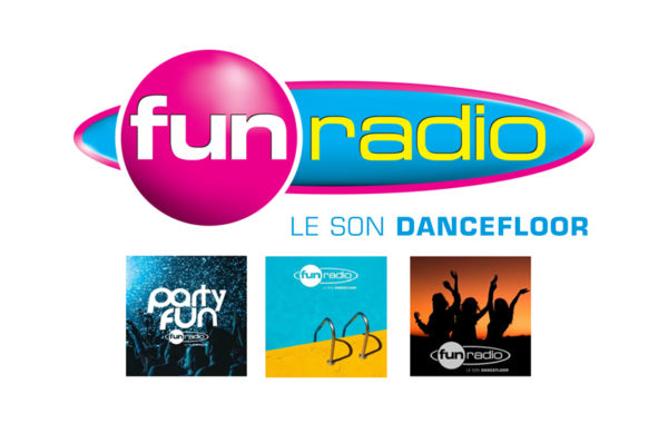 Fun Radio diffuse 3 playlists sur 4 sites de streaming