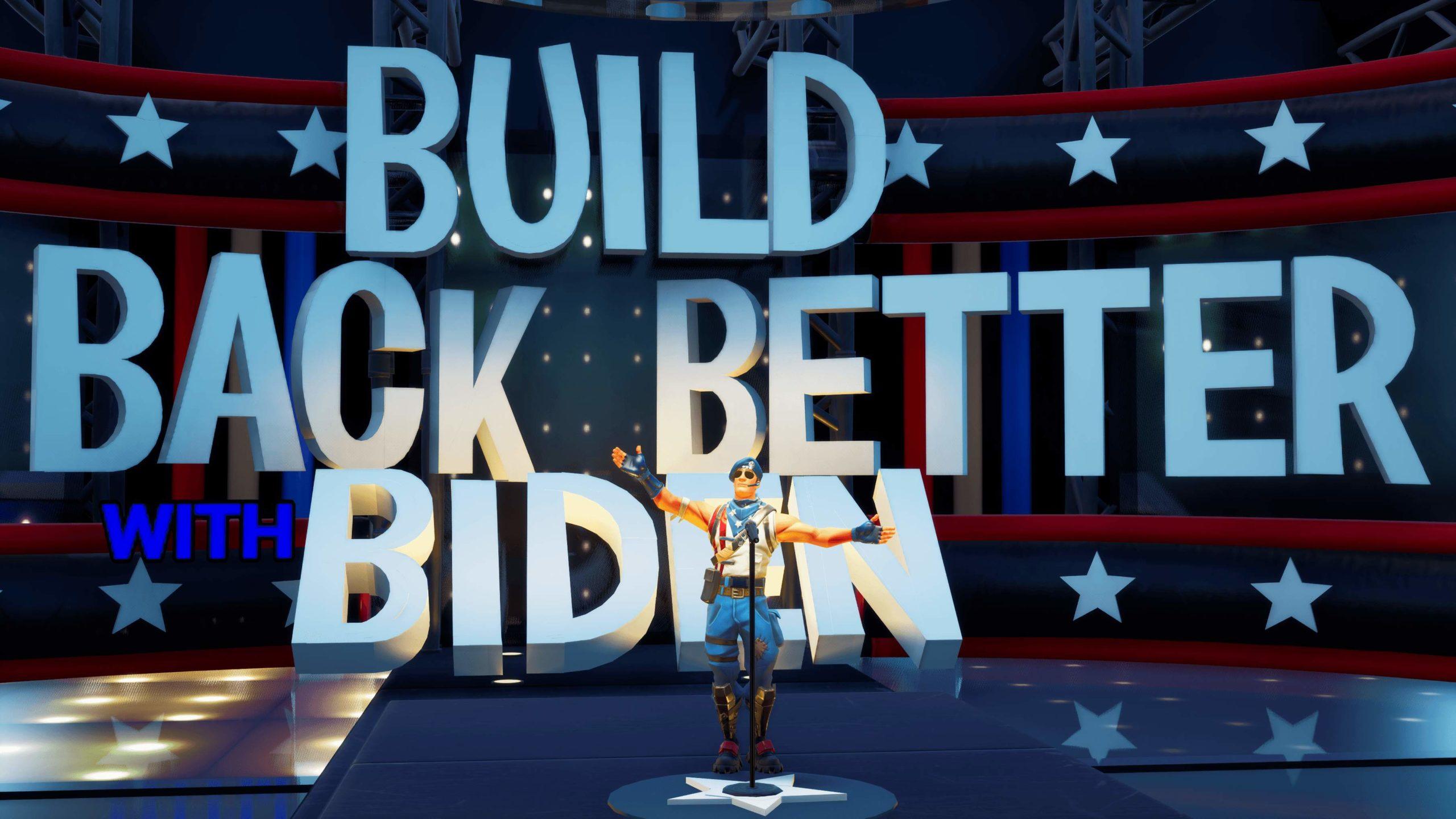 Joe Biden en campagne même sur Fortnite et Animal Crossing