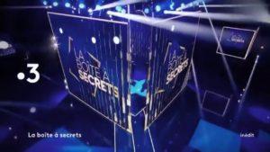 """Nouveau numéro de """"La boite à secrets"""" ce 6 novembre sur France 3"""
