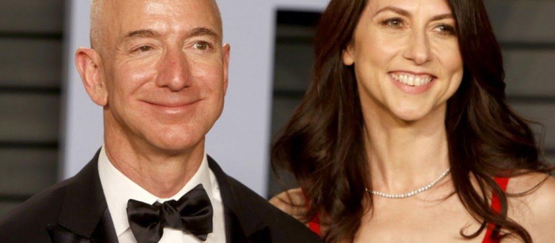 L'ex-femme du fondateur d'Amazon devient la 22ème fortune mondiale après son divorce