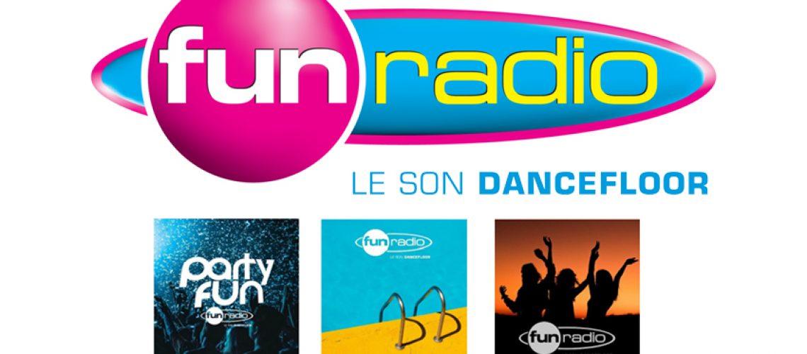 Fun Radio diffuse 3 playlists sur 4 sites de streaming