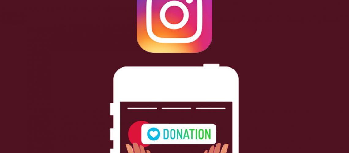"""Instagram lance le sticker """"donation"""" dans les stories"""
