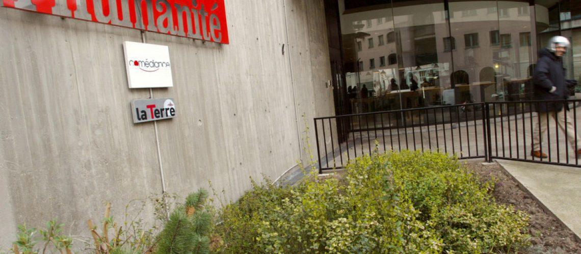 """Le quotidien """"L'Humanité"""" placé en redressement judiciaire, supprime 41 postes"""