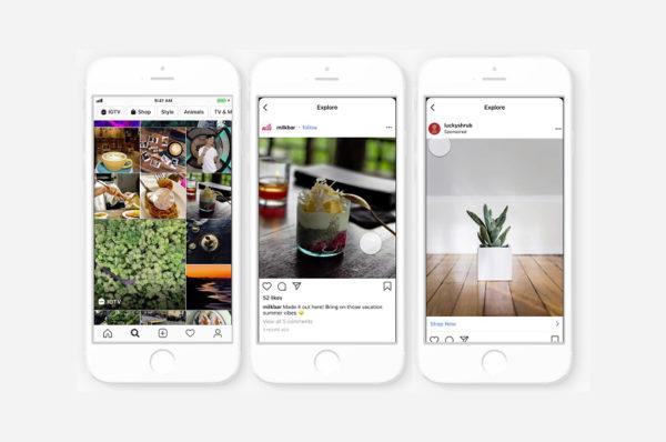 Instagram met encore plus de publicité dans son application