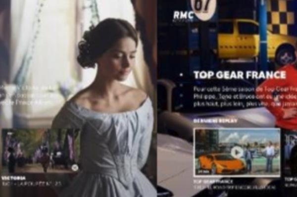 Nouvelle interface de replay des chaînes d'Altice Média