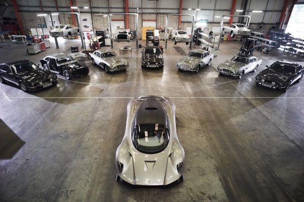 Voici les différentes Aston Martin du prochain James Bond