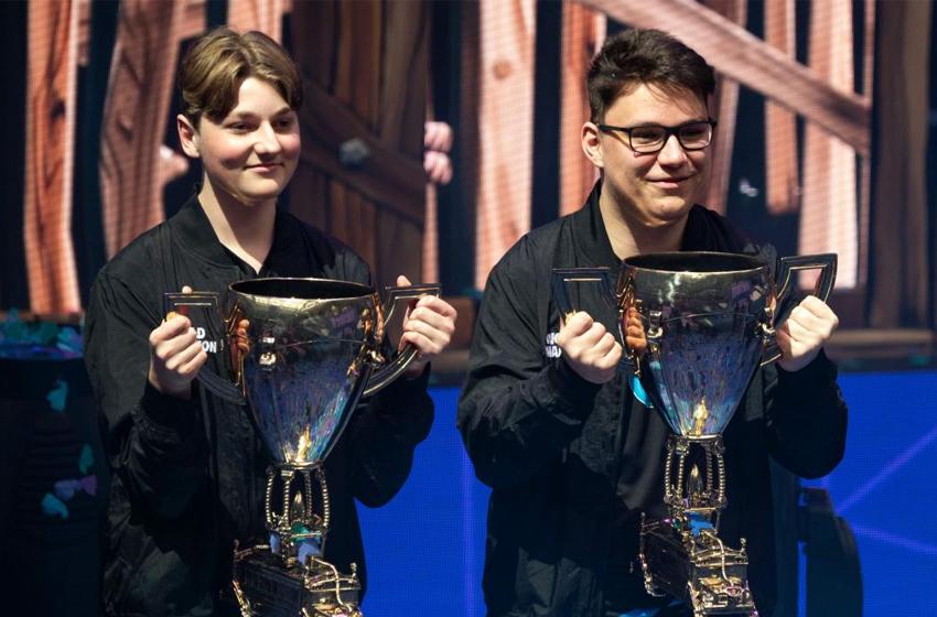 Les gagnants de la finale solo de la coupe du monde Fortnite