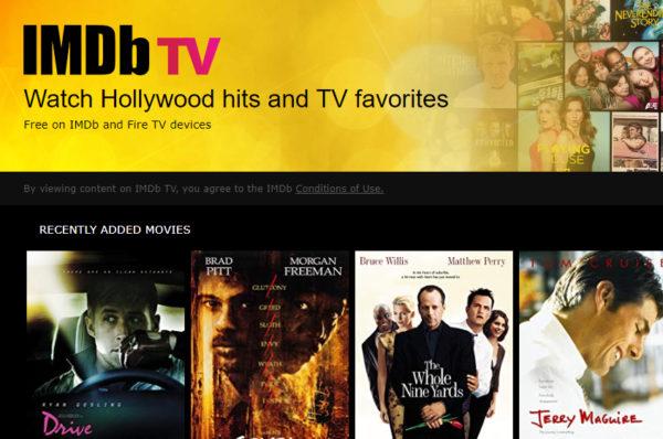 Amazon lance IMDb TV