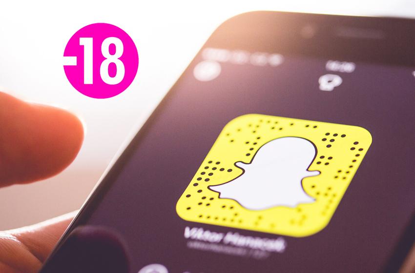 Snapchat sur plus d'un milliard d'appareils Android en partie grâce au porno !