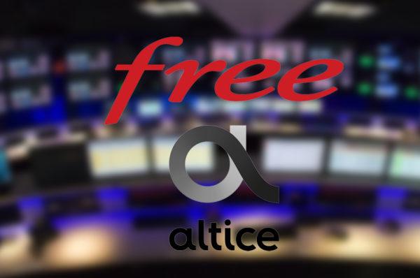Free peut ne plus diffuser les chaînes du groupe Altice