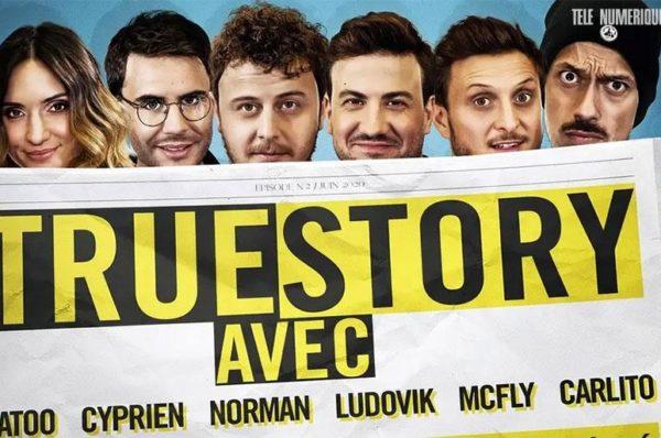 Norman, McFly & Carlito, Natoo et Cyprien débarquent sur Amazon Prime Video le 26 juin dans «TrueStory»