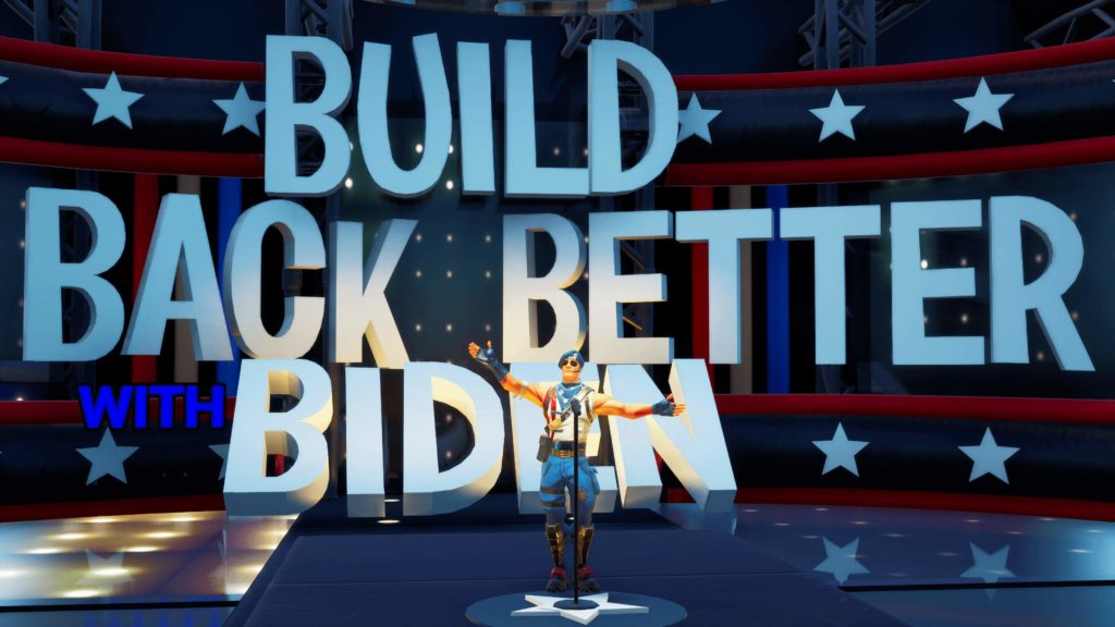 Joe Biden en campagne même sur Fortnite et Animal Crossing